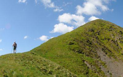 Southern Upland Way new bit: down the northeast ridge of Croft Head