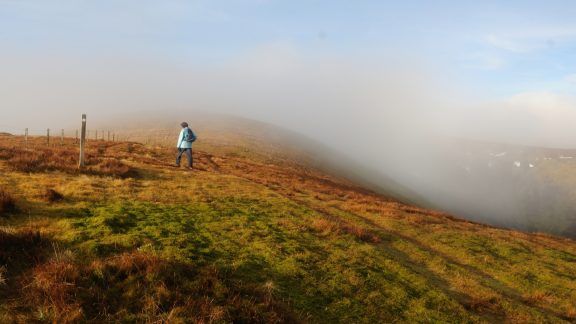 Crossing the Lowther Hills (Stage 7)