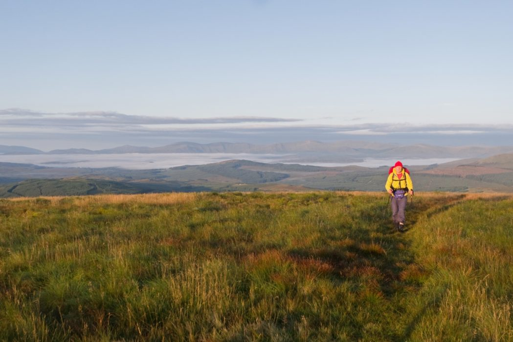 Daybreak on the west slope of Benbrack (Stage 6)