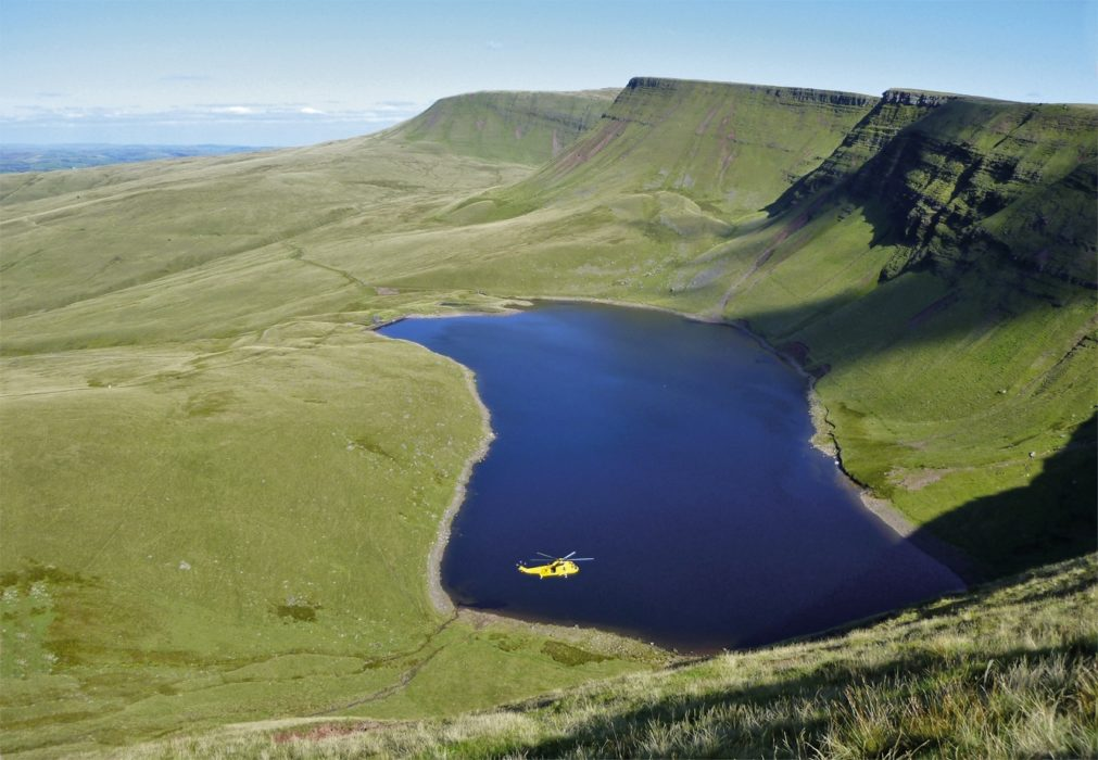 The beautiful Llyn Y Fan Fach