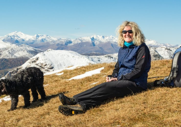 Walking in the Bavarian Alps with a dog: the pros and cons