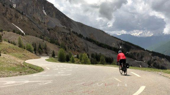 Descending the Col de l'Izoard