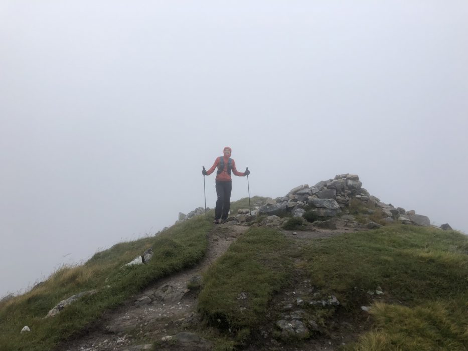 Final Summit Of The Day An Gearanach  Definitely Smiling