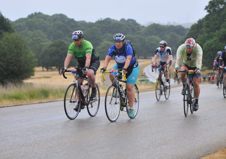 The ups and downs of RideLondon: cycling 100 miles in the rain