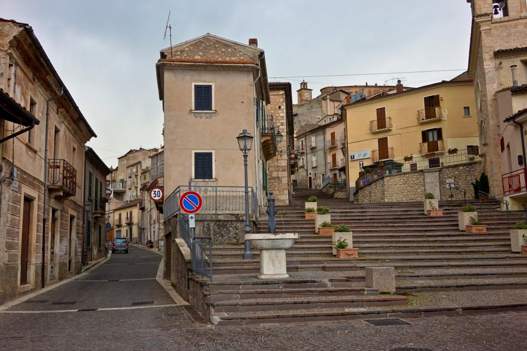 The town of many steps