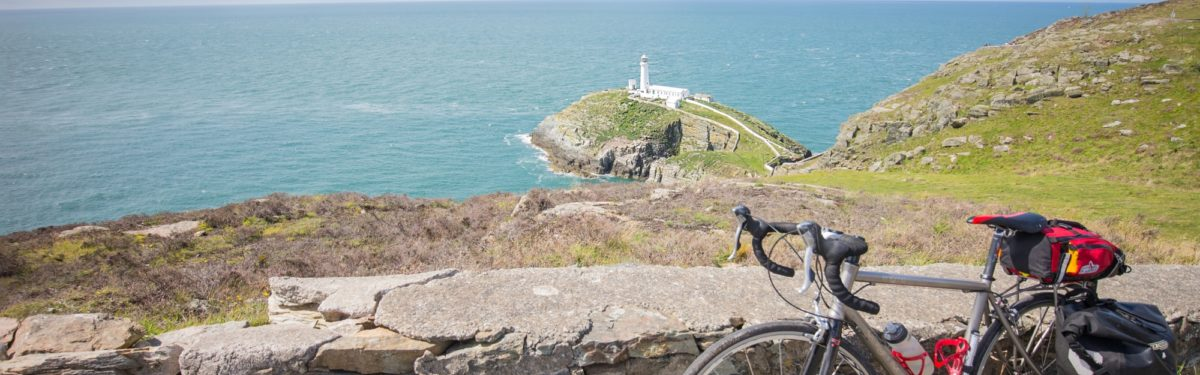 My preferred ending of the Lôn Las Cymru - South Stack Lighthouse