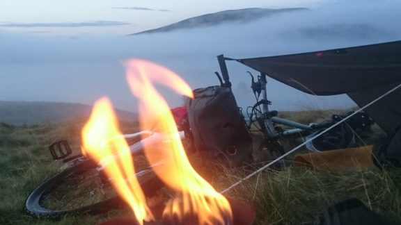 morning cloud inversion on a short overnight trip in the Cairngorms National Park