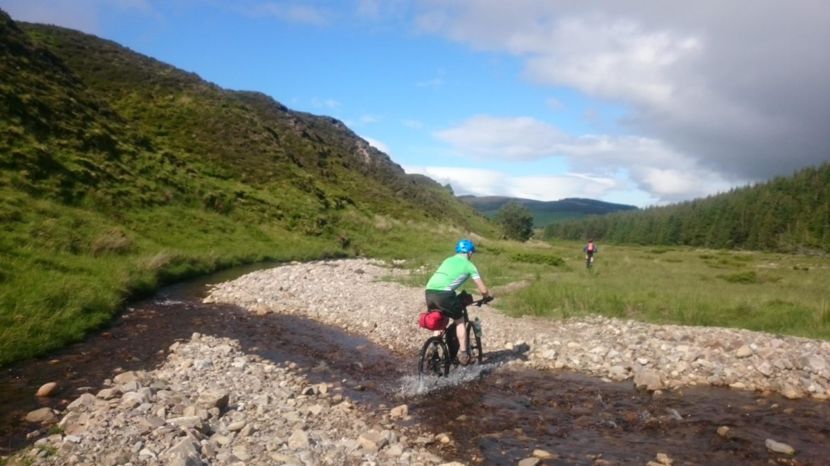 Fording rivers requires confidence and awareness of local conditions