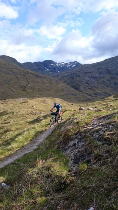 Remote and serious traverse through Glen Affric