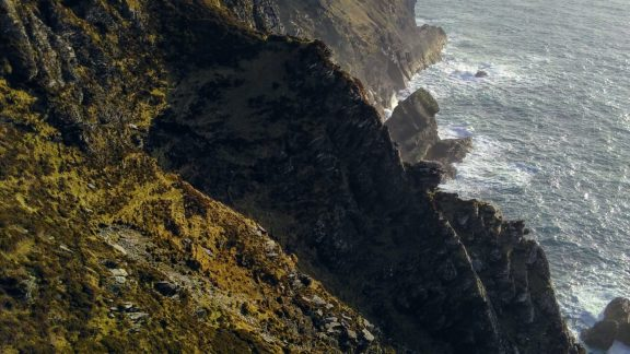 The cliffs of Bray Head