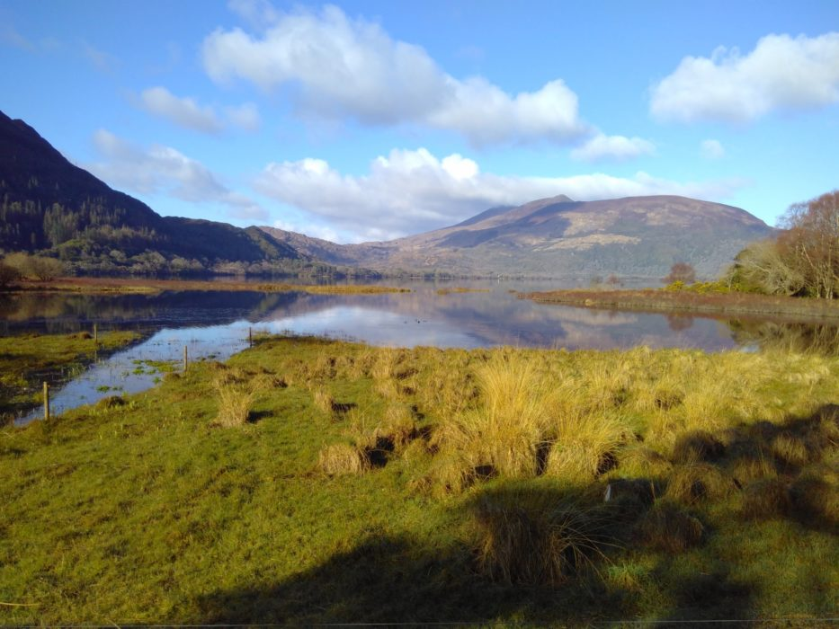 Muckross Lake and Purple Mountain