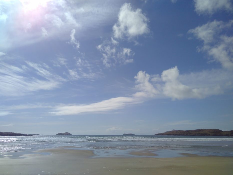The beach at Derrynane Bay