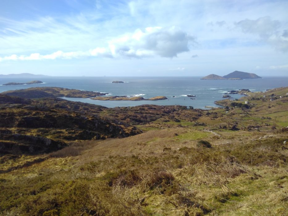 The high path along Derrynane Bay