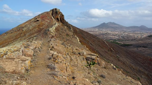 If you like your mountains barren, then head for the island of Porto Santo