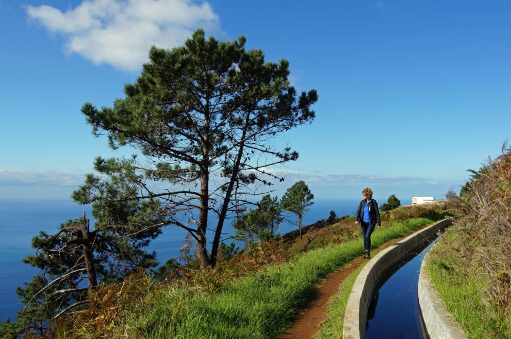 The Levada da Calheta – Ponta do Pargo offers days of easy walking