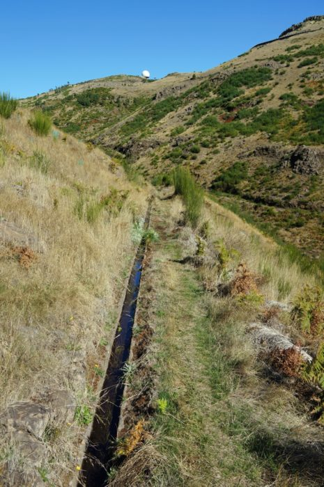 The Levada da Negra makes a downhill sprint to the suburbs of Funchal