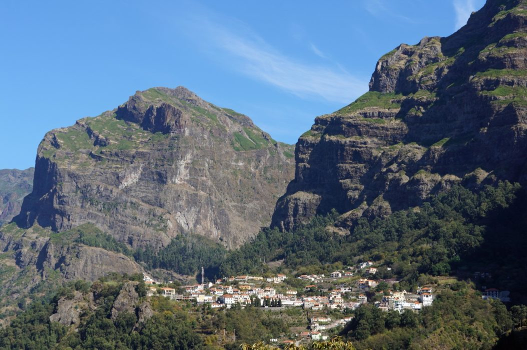 The steep-sided valley of Curral das Freiras offers lots of walks