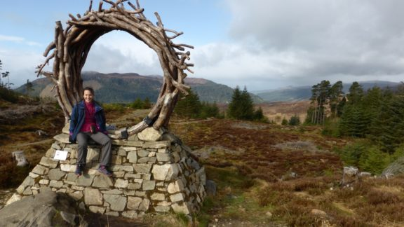 The viewcatcher sculpture on day 3