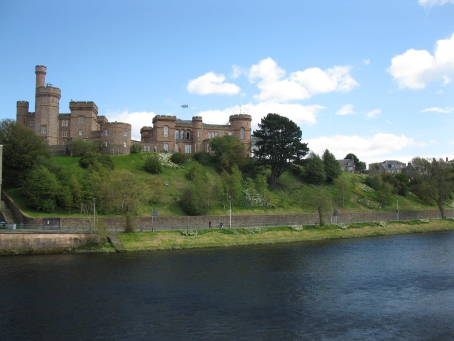 The end - Inverness Castle