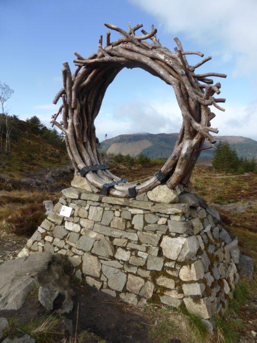 The viewcatcher sculpture