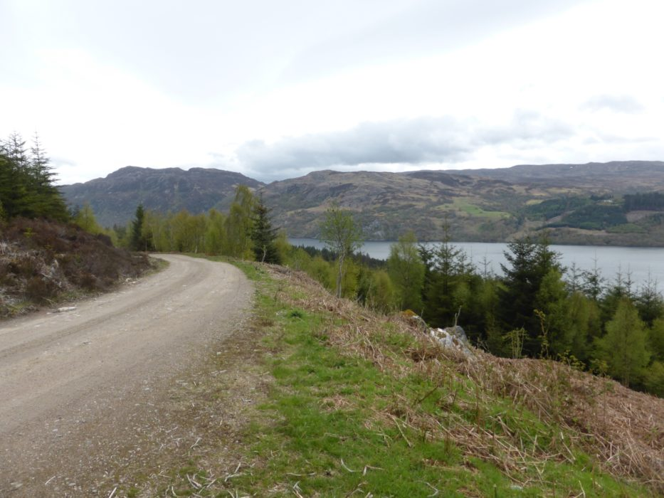 Views along Loch Ness