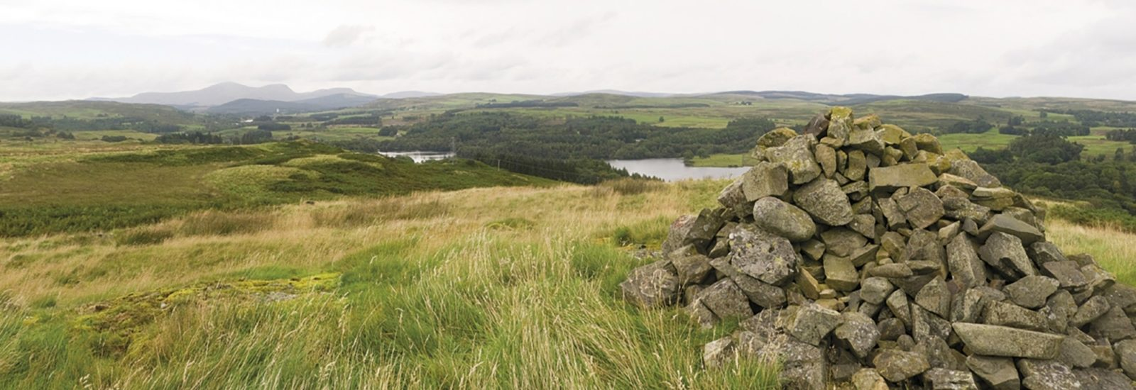 Loch Ken Seen From Waterside Hill Summit Stage 5