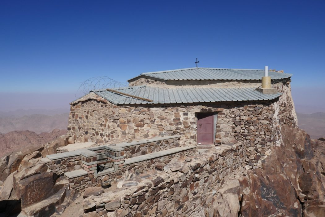 Church on top of Mt Caterina