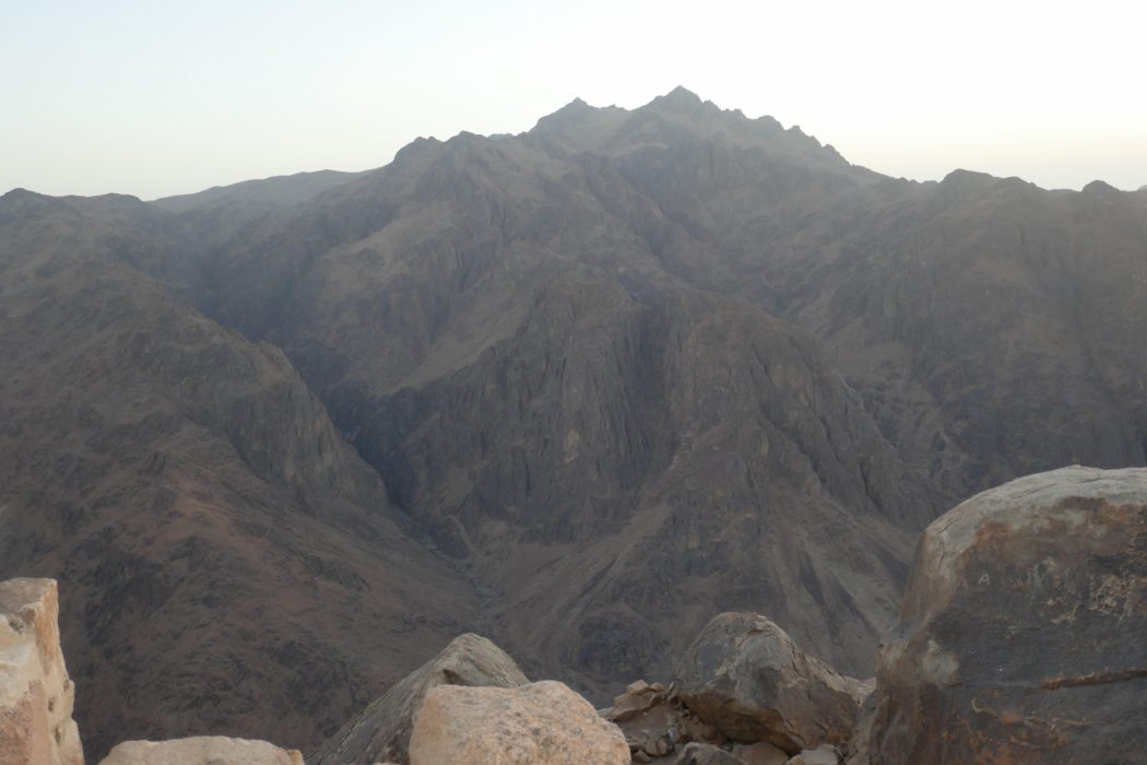 Mt Caterina from Mt Sinai