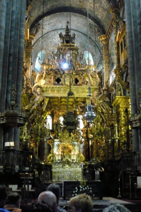 Pilgrim's Mass in Santiago Cathedral