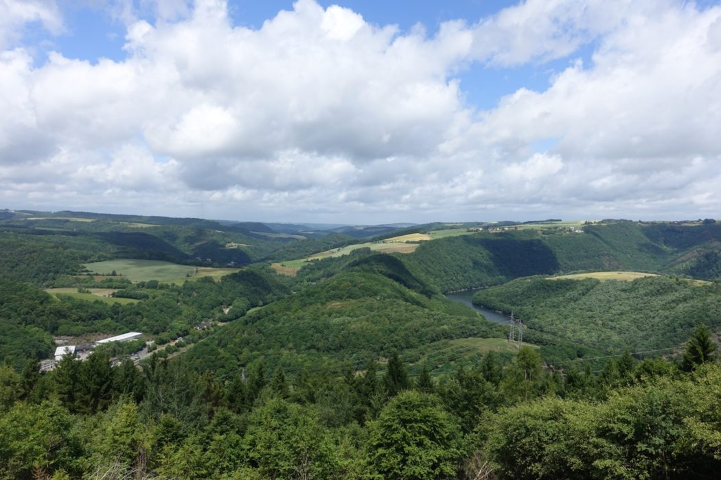 Our River valley near Vianden (Luxembourg)