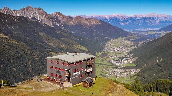 Elferhütte, one of Austria's wonderful mountain huts