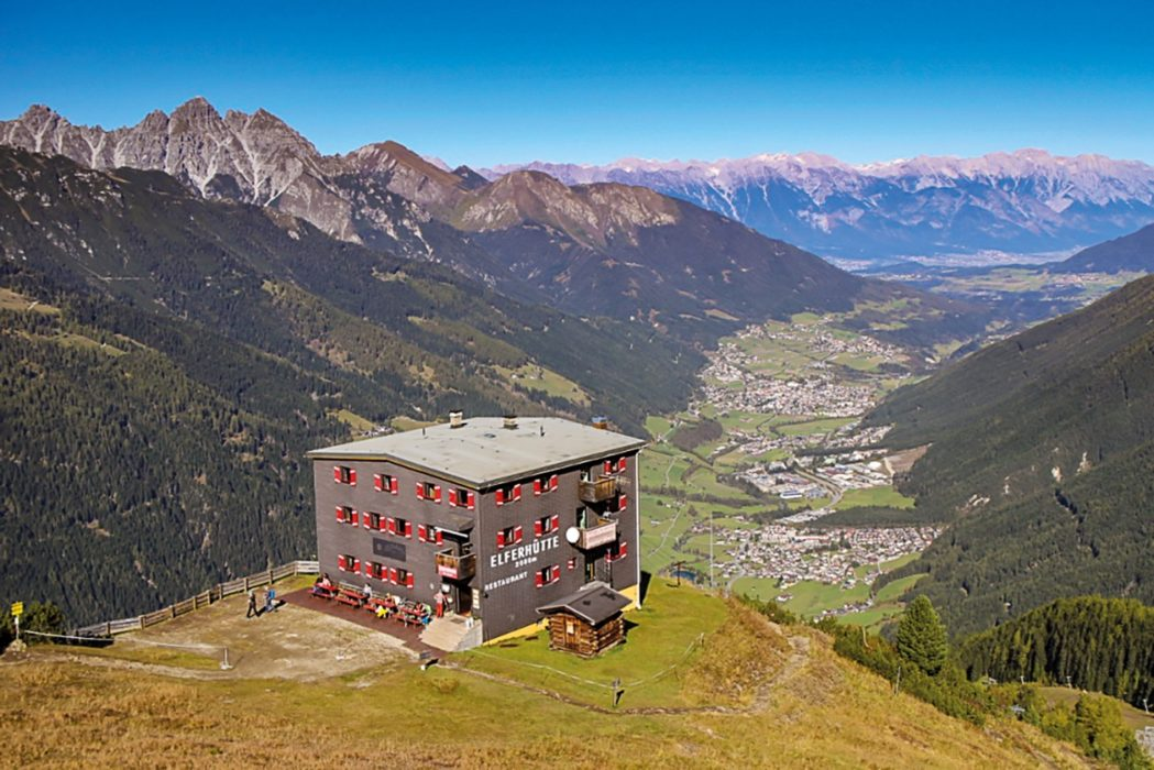 Elferhütte, one of Austria's wonderful mountain huts