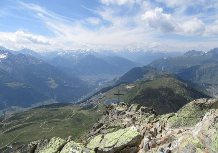 Hiking alone in Bettmeralp and the Aletsch Arena, Switzerland