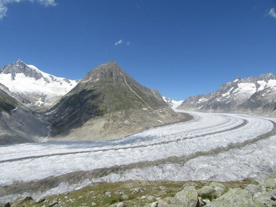 Striking glaciers