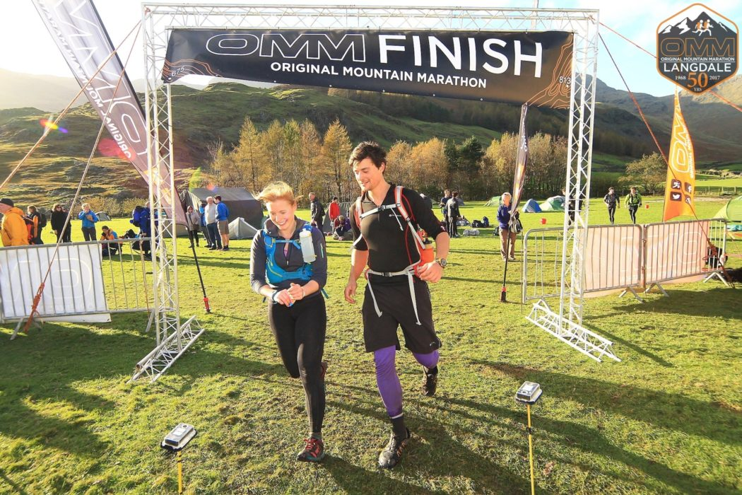 Finishing the OMM in 2017