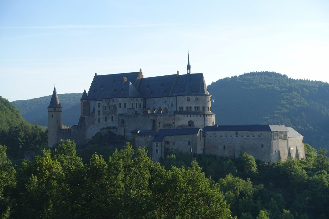 Another view of Vianden castle
