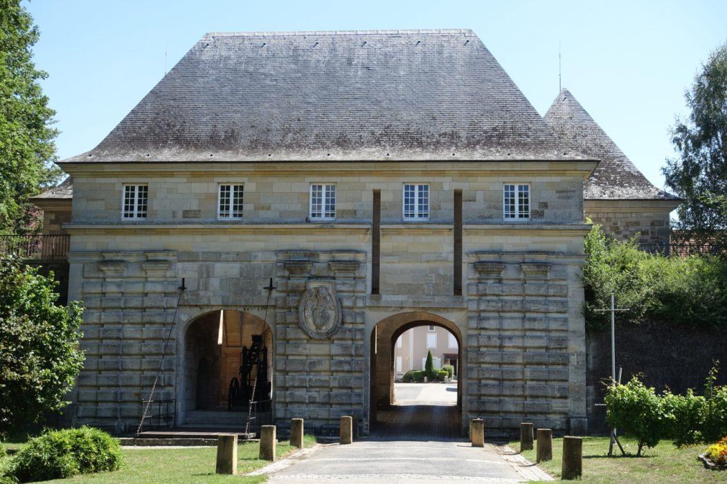17th century Porte de France entry to Marsal (Lorraine)