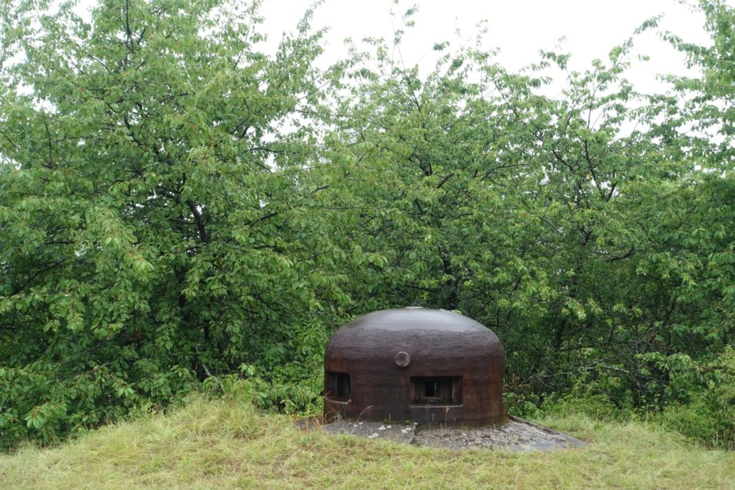 Armoured cupula of Maginot Line bunker