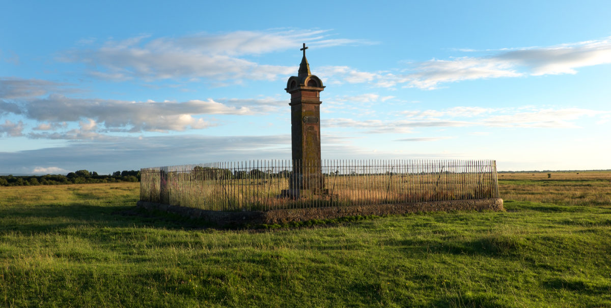 Walk5A The Edward I Monument Marks The Site On Burgh Marsh Where The King Died In 1307 While Waiting To Lead His Army Across The River Eden Into Scotland