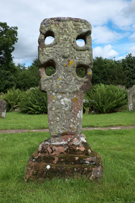Walk3C A 10Th Century Wheel Headed Anglian Cross In St Michael And All Angels Churchyard