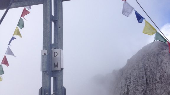 The limestone summits can be accessible with a little easy scrambling