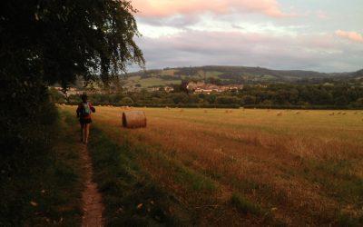 Approaching Hay on Wye