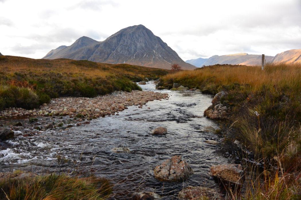 Buachaille Etive Mor, Glencoe. Fastpacking the West Highland Way, Scotland.