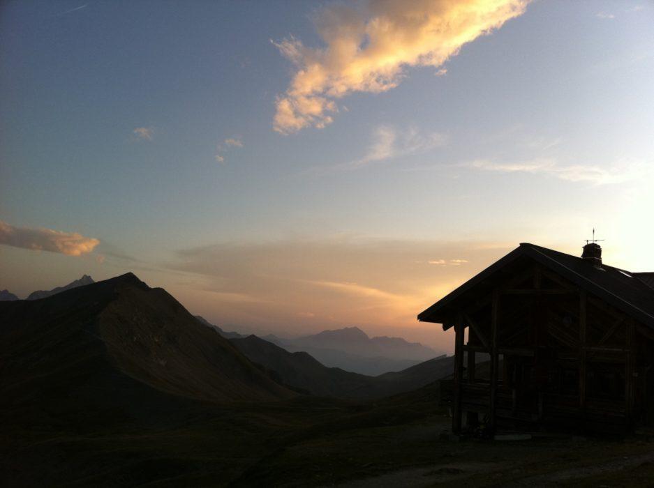 Hut-hopping is great way to travel. Refuge de la Croix de Bonhomme on the Tour Mont Blanc, France