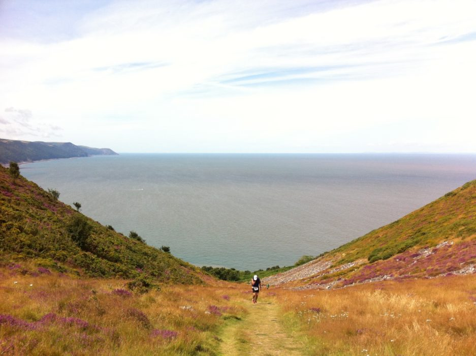 Exmoor is notorious for its steep combes and stunning coastline