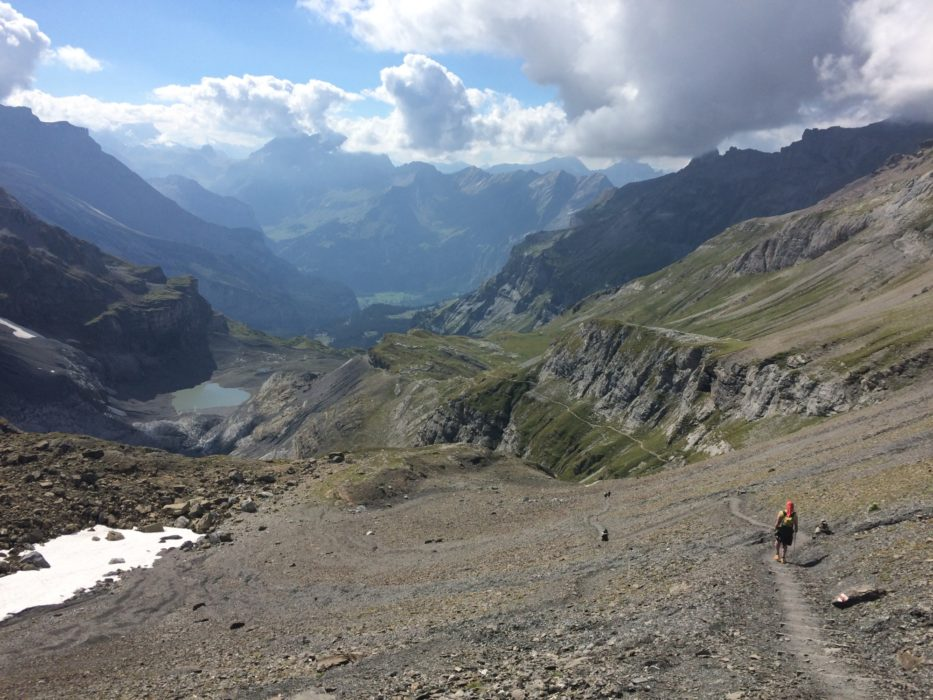Fastpacking on the Alpine Pass Route, Switzerland