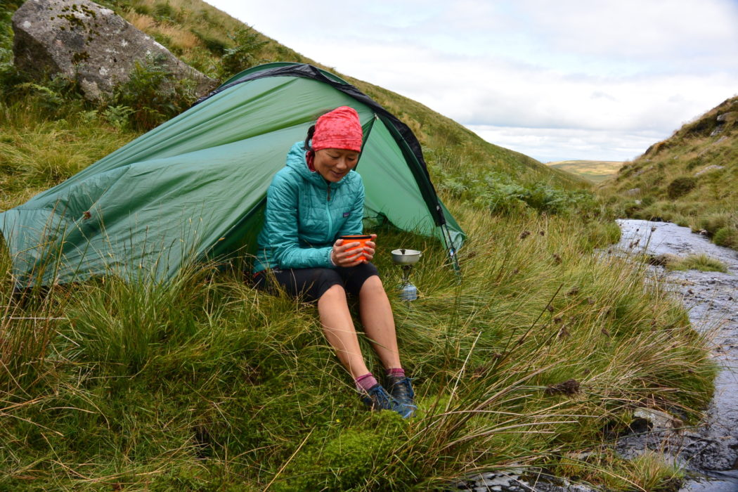 Wild camping means you can stop whereever you find your perfect spot. Dartmoor, England. Photo by Chris Councell.