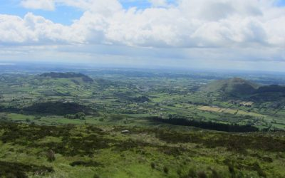 Walk 2 03 Looking south from Slieve Gullion