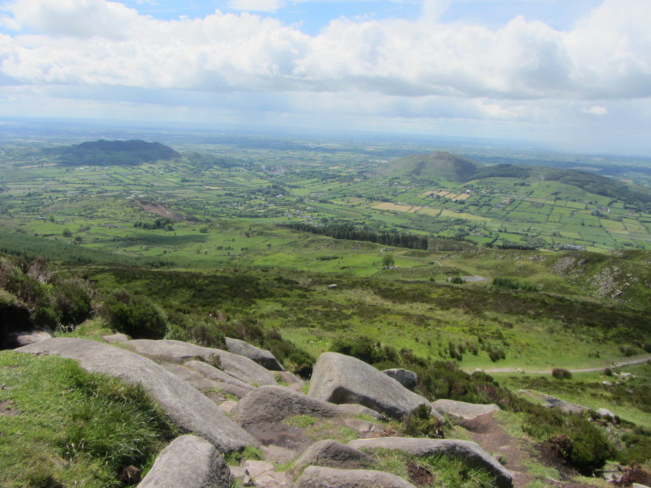 Walk 2 01 On the way up Slieve Gullion