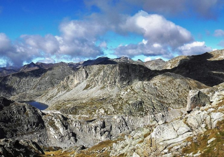 Trekking in the Parc Nacional D'Aigüestortes in the Spanish Pyrenees